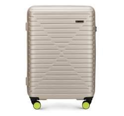 Mittlerer Koffer, beige, 56-3A-452-88, Bild 1