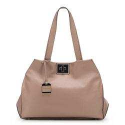 Damentasche, beige-rosa, 86-4E-004-9, Bild 1