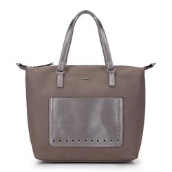 Shopper-Tasche, beige, 87-4Y-709-8, Bild 1