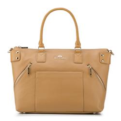 Shopper-Tasche, beige, 88-4E-200-9, Bild 1