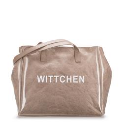 Shopper-Tasche, beige, 88-4E-435-9, Bild 1