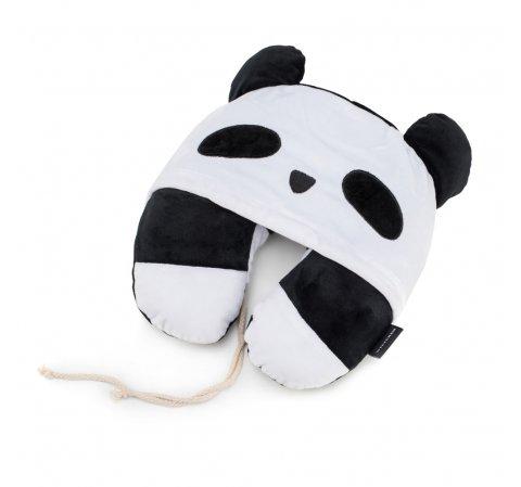 Дорожная подушка, бело-черный, 56-30-041-C, Фотография 1