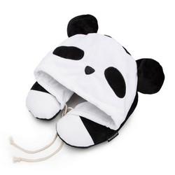 Дорожная подушка, бело-черный, 56-30-041-O, Фотография 1