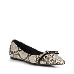 Обувь женская, бело-черный, 90-D-905-0-36, Фотография 1