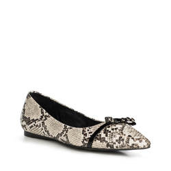 Обувь женская, бело-черный, 90-D-905-0-40, Фотография 1