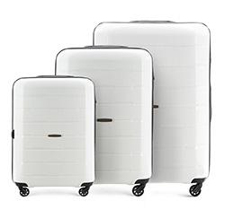 Комплект чемоданов, белый, 56-3T-72S-88, Фотография 1