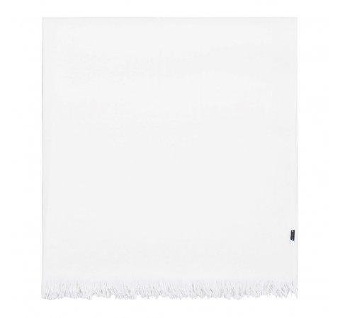 Женский тонкий шерстяной шарф, белый, 91-7D-X14-0, Фотография 1