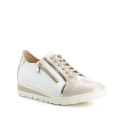 Обувь женская, бежево - белый, 84-D-110-8-36, Фотография 1