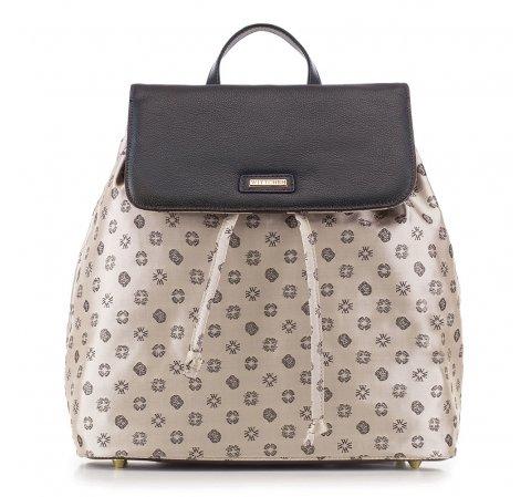 Рюкзак женский, бежево-коричневый, 88-4E-924-1, Фотография 1