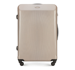 Большой чемодан из поликарбоната, бежевый, 56-3P-973-81, Фотография 1