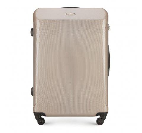 Большой чемодан, бежевый, 56-3P-973-91, Фотография 1