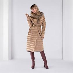 Куртка женская, бежевый, 89-9D-400-9-XL, Фотография 1