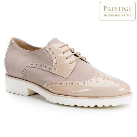 Обувь женская, бежевый, 84-D-105-7-39_5, Фотография 1
