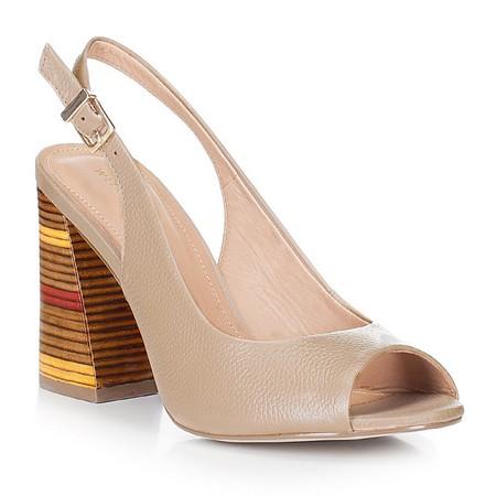 Обувь женская, бежевый, 88-D-556-9-38, Фотография 1