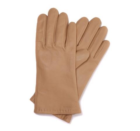 Перчатки женские, бежевый, 44-6-201-6-L, Фотография 1