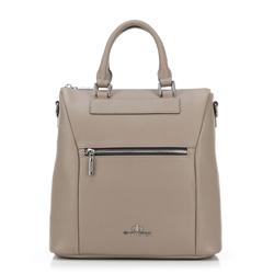 Рюкзак женский, бежевый, 89-4E-418-9, Фотография 1