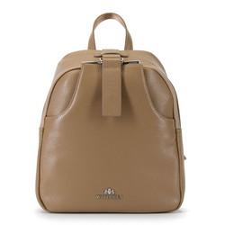 Рюкзак женский, бежевый, 90-4E-354-9, Фотография 1
