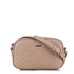 Женская сумка через плечо, бежевый, 91-4Y-614-9, Фотография 1