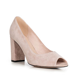 Обувь женская, бежевый - серебристый, 90-D-959-9-40, Фотография 1