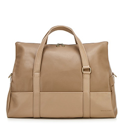 Cestovní taška, béžová, 92-3P-502-5, Obrázek 1