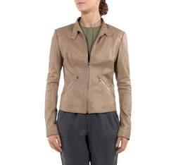 Dámská bunda, béžová, 80-09-906-6-L, Obrázek 1