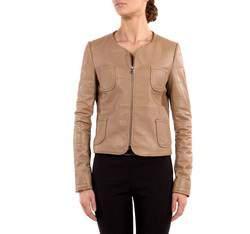 Dámská bunda, béžová, 80-09-909-9-S, Obrázek 1