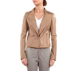 Dámská bunda, béžová, 80-09-910-0-L, Obrázek 1