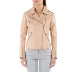 Dámská bunda, béžová, 82-09-504-9-L, Obrázek 1