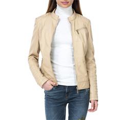 Dámská bunda, béžová, 84-09-201-9-XL, Obrázek 1