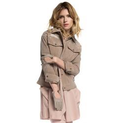 Dámská bunda, béžová, 86-9P-105-9-L, Obrázek 1