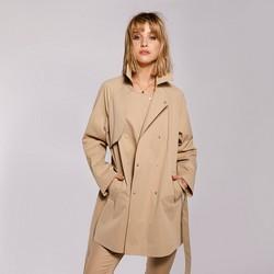 Dámská bunda, béžová, 92-9N-400-9-XL, Obrázek 1