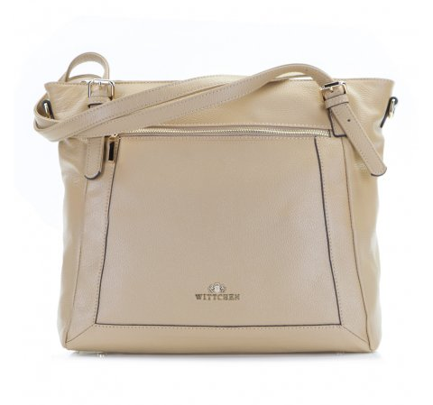 Dámská kabelka, béžová, 86-4E-441-9, Obrázek 1