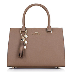 Dámská kabelka, béžová, 87-4E-403-9, Obrázek 1