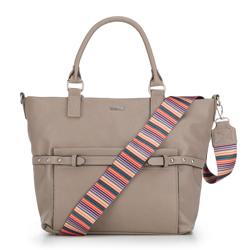Dámská kabelka, béžová, 87-4Y-728-9, Obrázek 1