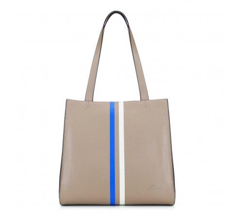 Dámská kabelka, béžová, 88-4E-408-9, Obrázek 1