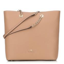 Dámská kabelka, béžová, 89-4E-400-9, Obrázek 1