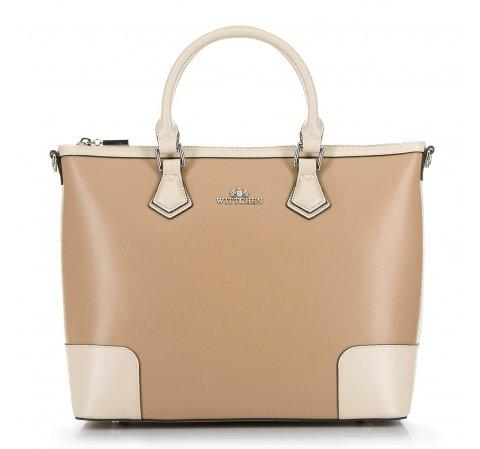 Dámská kabelka, béžová, 90-4E-610-3, Obrázek 1