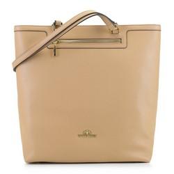 Dámská kabelka, béžová, 92-4E-600-9, Obrázek 1