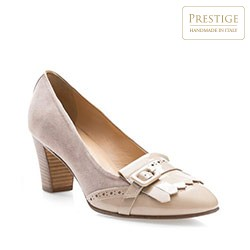 Dámské boty, béžová, 84-D-103-9-37, Obrázek 1