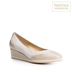 Dámské boty, béžová, 84-D-109-9-36, Obrázek 1