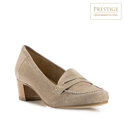 Dámské boty, béžová, 82-D-119-9-35, Obrázek 1
