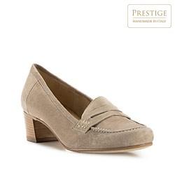 Dámské boty, béžová, 82-D-119-9-40, Obrázek 1
