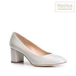 Dámské boty, béžová, 84-D-102-8-38, Obrázek 1