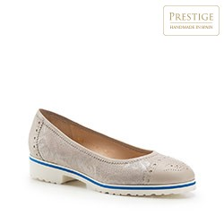 Dámské boty, béžová, 86-D-111-9-37, Obrázek 1