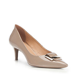 Dámské boty, béžová, 87-D-757-8-38, Obrázek 1