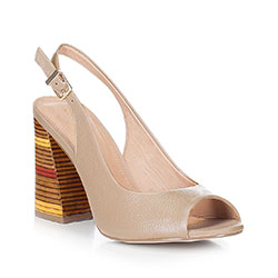 Dámské boty, béžová, 88-D-556-9-40, Obrázek 1