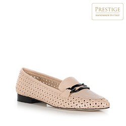 Dámské boty, béžová, 90-D-102-9-38, Obrázek 1