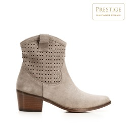 Dámské boty, béžová, 92-D-053-9-38, Obrázek 1