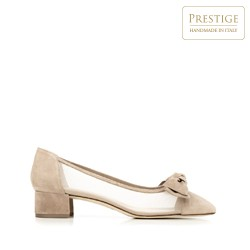 Dámské boty, béžová, 92-D-101-9-36, Obrázek 1