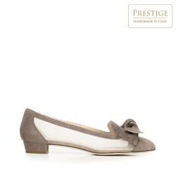 Dámské boty, béžová - stříbrná, 92-D-103-9-35, Obrázek 1